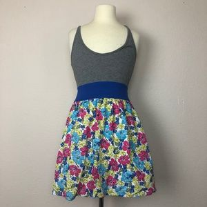 Hollister Floral Sleeveless Mini Dress ((size XS))